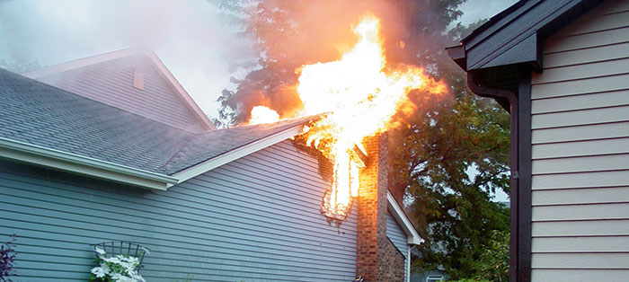 Chimney Fire Damage Repair
